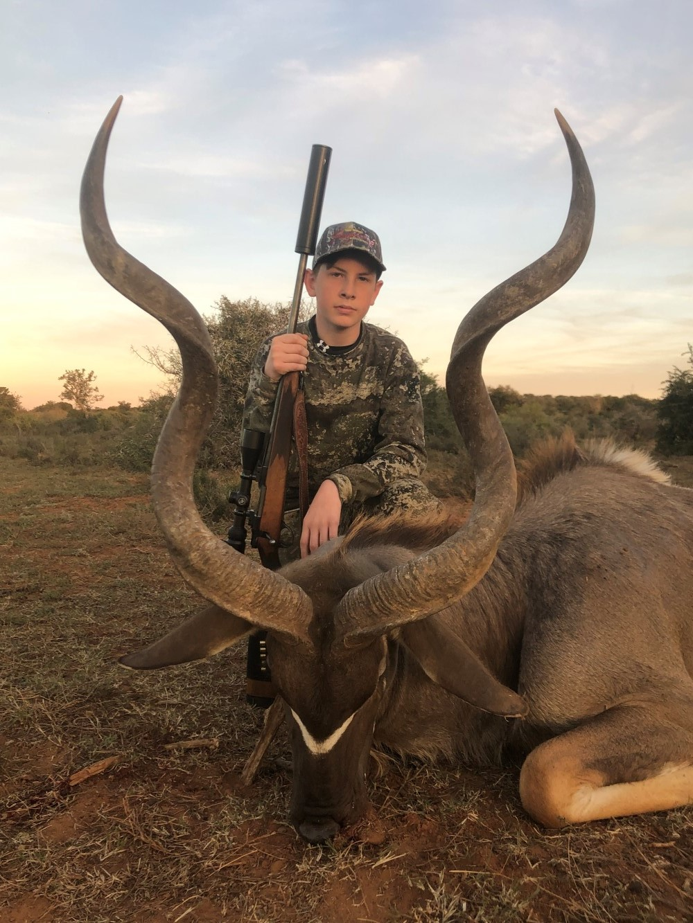 Sable Bull Hunting Eastern Cape South Africa,